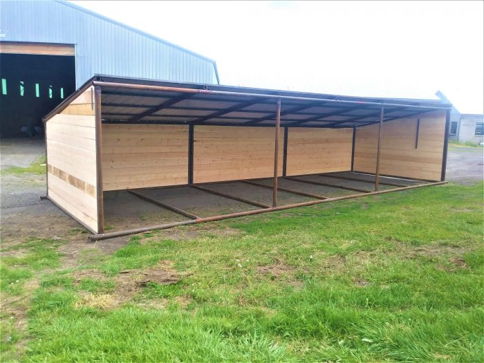 10x36 Loafing Shed